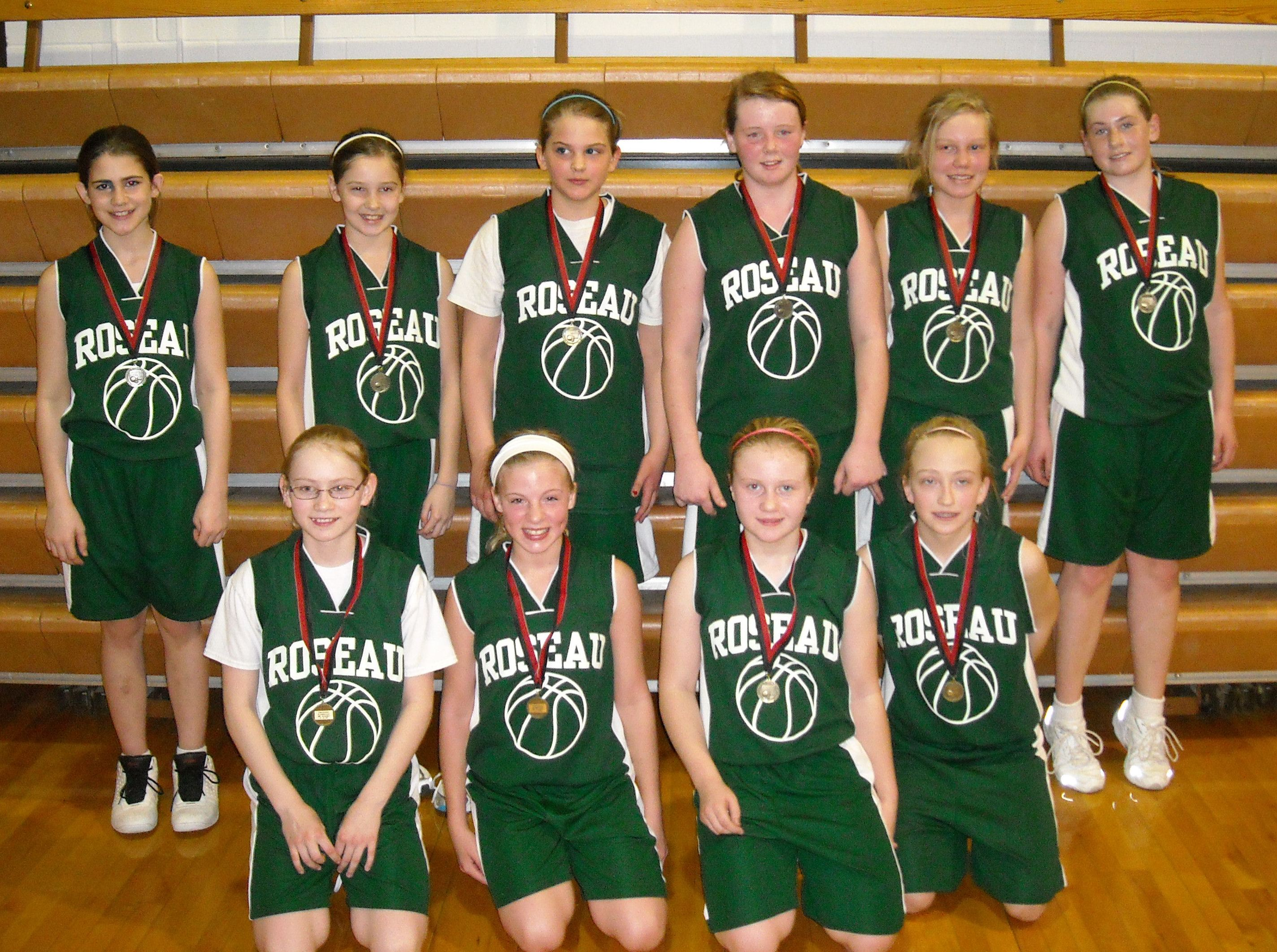 6th grade roseau team #1